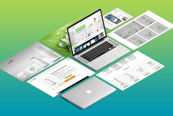 Ecoheal website
