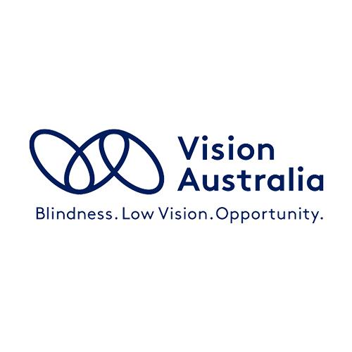 Logo Vision Australia